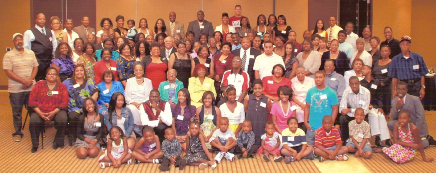 African american family reunion